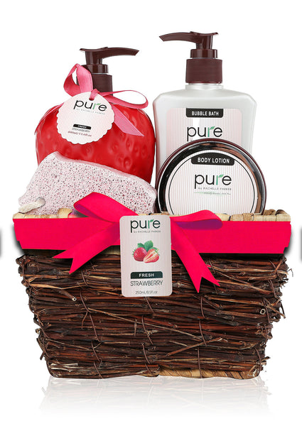 Spa in a Basket -All Natural- Premium Rachelle Parker Spa Gift