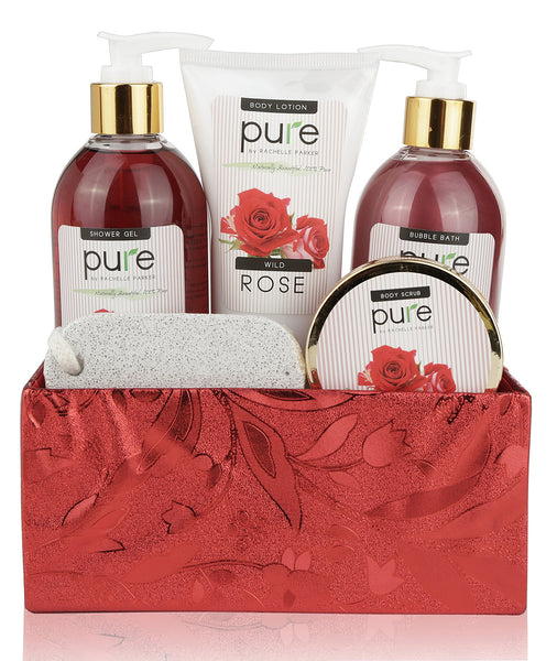 Luxury Rose Spa Gift Basket