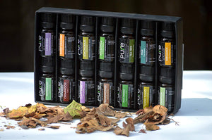 14 PURE Essential Oils Set Variety Pack.