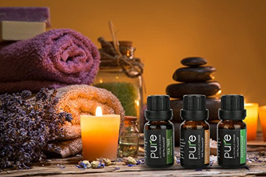 PURE Essential Oils Set! 8 Top Earth Essential Oils