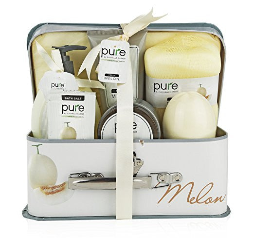 Melon Spa-At-Home Basket. Best Spa Basket, Gift Basket for Women