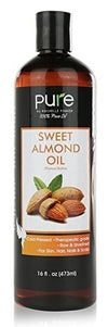 Sweet Almond Oil Triple AAA+ Grade Quality - 100% Pure - Cold Pressed