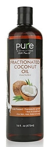 Purest Virgin Fractionated Coconut Oil 16 oz.