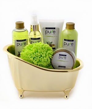 Olive Oil Deluxe Spa Gift Basket