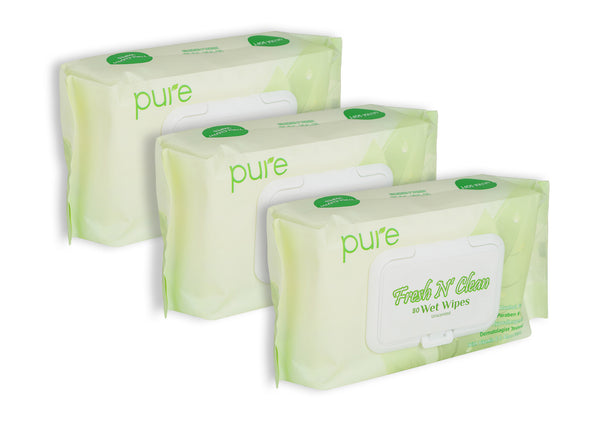 Sensitive Wet Wipes - Natural & Unscented