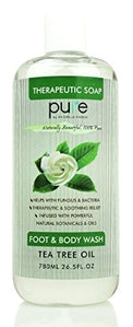 PURE Tea Tree Oil Foot & Body Wash - 26.5 oz. Sulfate Free Tea Tree Body Wash!