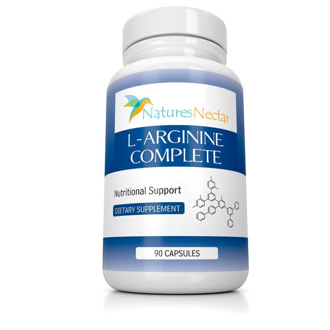 L-Arginine Supplement - Over 2,000mg per serving of Pure Arginine