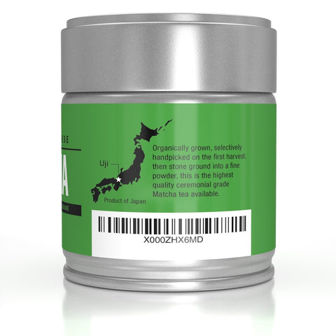 Image of Pure Ceremonial Grade Organic Matcha Green Tea Powder