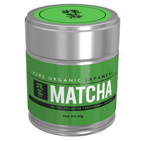 Pure Ceremonial Grade Organic Matcha Green Tea Powder