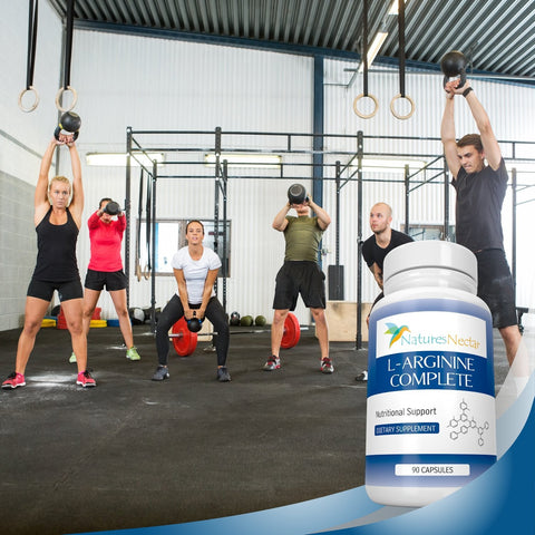 Image of L-Arginine Supplement - Over 2,000mg per serving of Pure Arginine