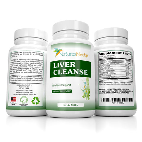 Image of Liver Cleanse & Detox Supplement Support