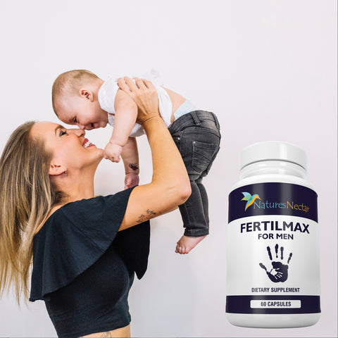 Image of Male fertility supplements - Advanced Fertility Blend For Men Helps to Increase Sperm Health, Count, Volume and Rate of Conception - Conceive and Get Pregnant Fast with Semen Aid Booster Supplement