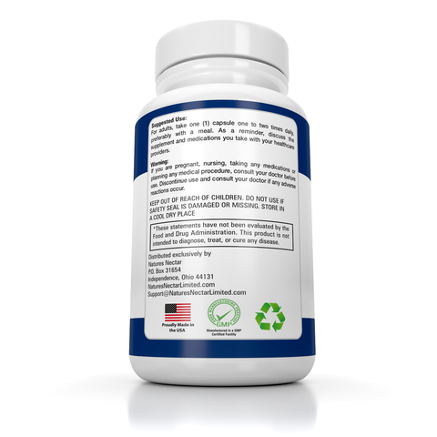 Image of Pure Nattokinase 200 mg Capsules 4000 FU – Supports Cardiovascular & Circulatory Health