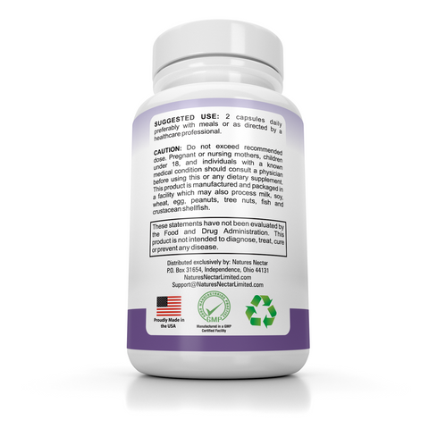 Menopause Relief Supplement With Black Cohosh