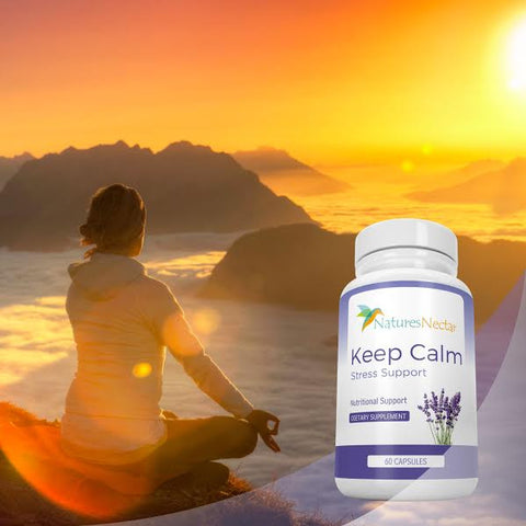 Image of Natural Stress And Anxiety Relief Supplement