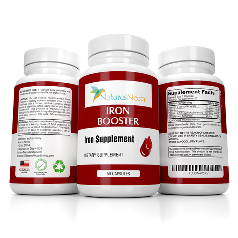 Image of Iron Booster Supplement