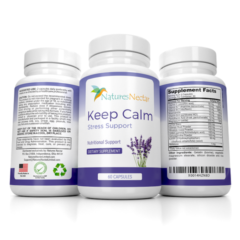 Natural Stress And Anxiety Relief Supplement
