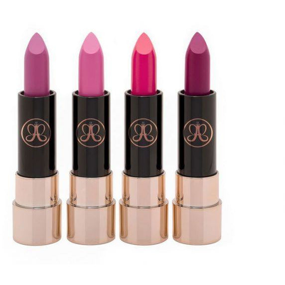 Anastasia Beverly Hills Matte Lipstick  4 PC Set Mini Pinks & Berries