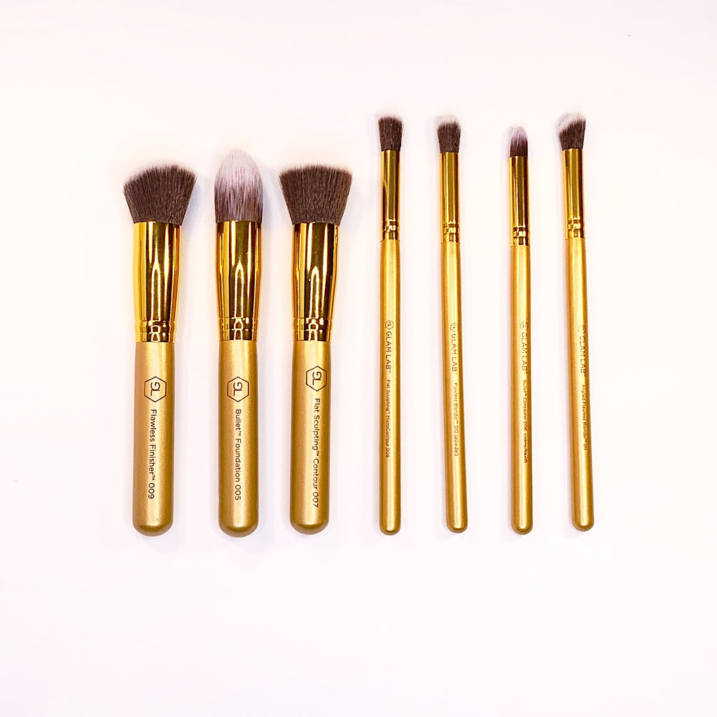 GLAM LAB Essential 7 Brush Set