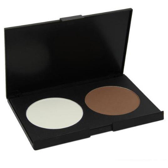 GLAM LAB Precise Perfection™ Contour & Highlight Palette Cocoa Vanilla