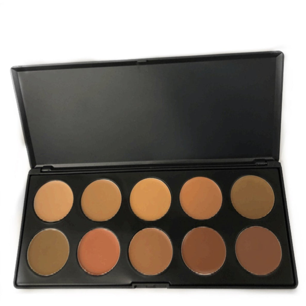 GLAM LAB Cosmetics - Deep Honeycomb Foundation Palette