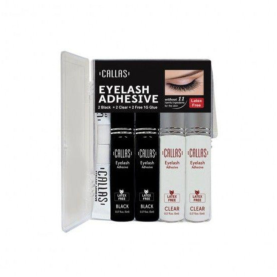 Callas Eyelash Adhesive 4pcs Set