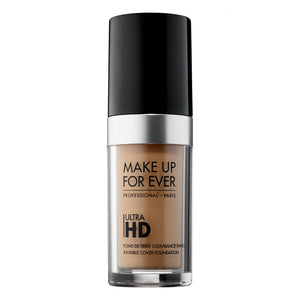 MAKE UP FOR EVER Ultra HD Foundation Available in 40 Shades