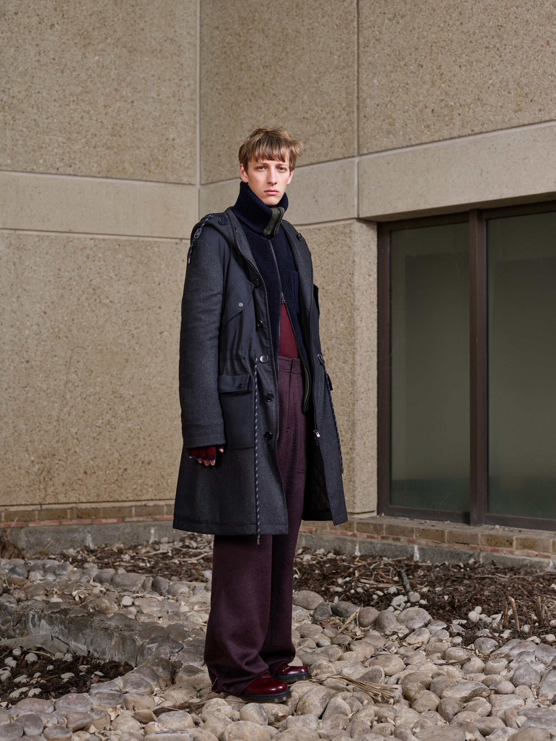 Pringle of Scotland Men's Autumn Winter '18 Look 12