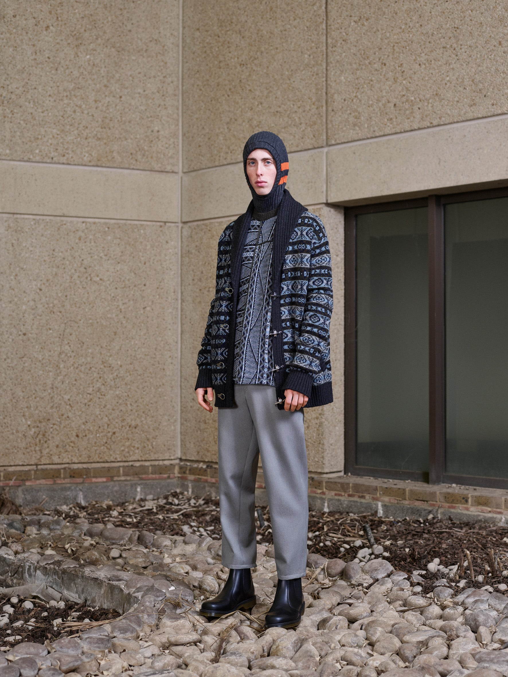 Pringle of Scotland Men's Autumn Winter '18 Look 14