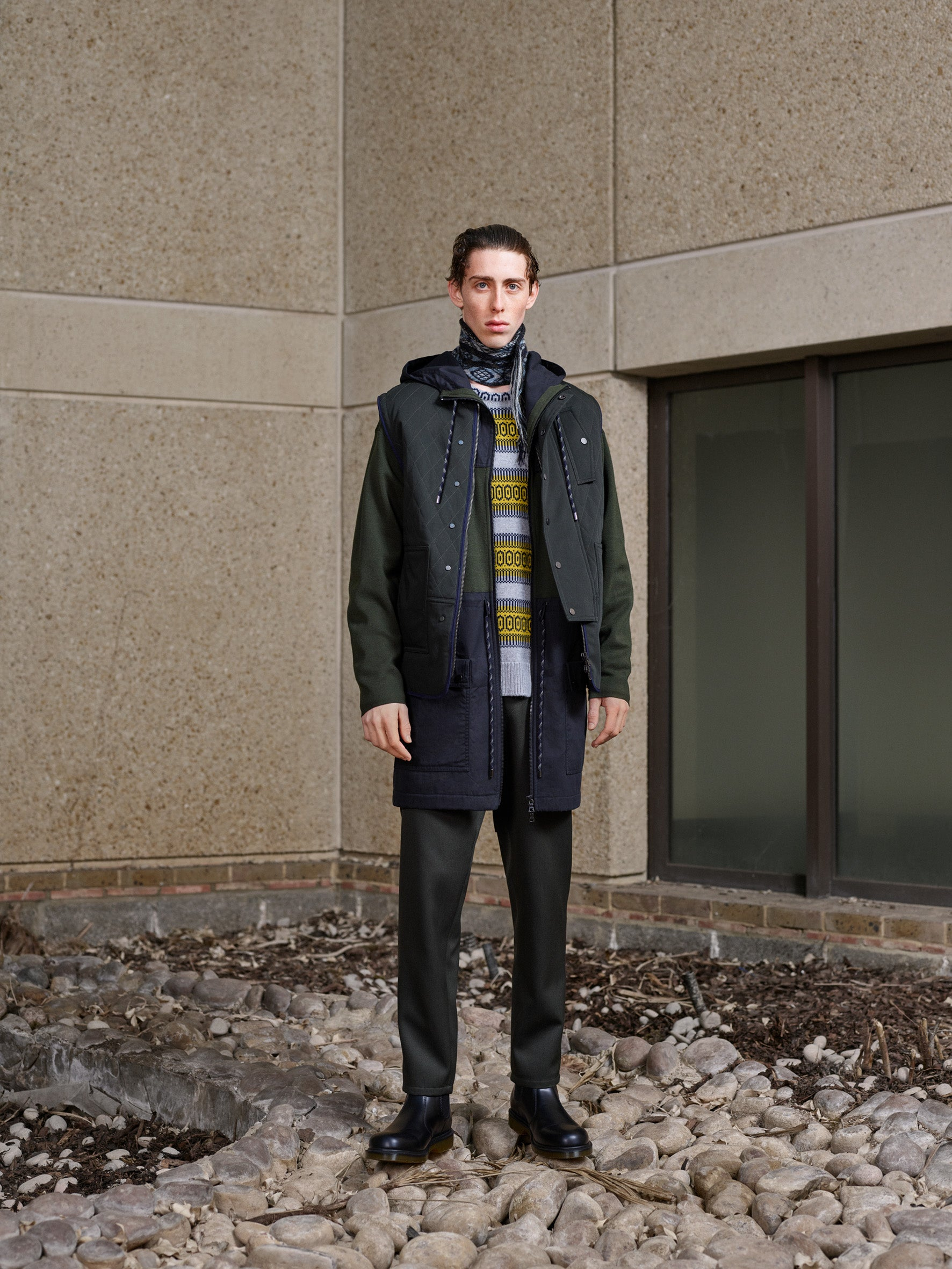 Pringle of Scotland Men's Autumn Winter '18 Look 15