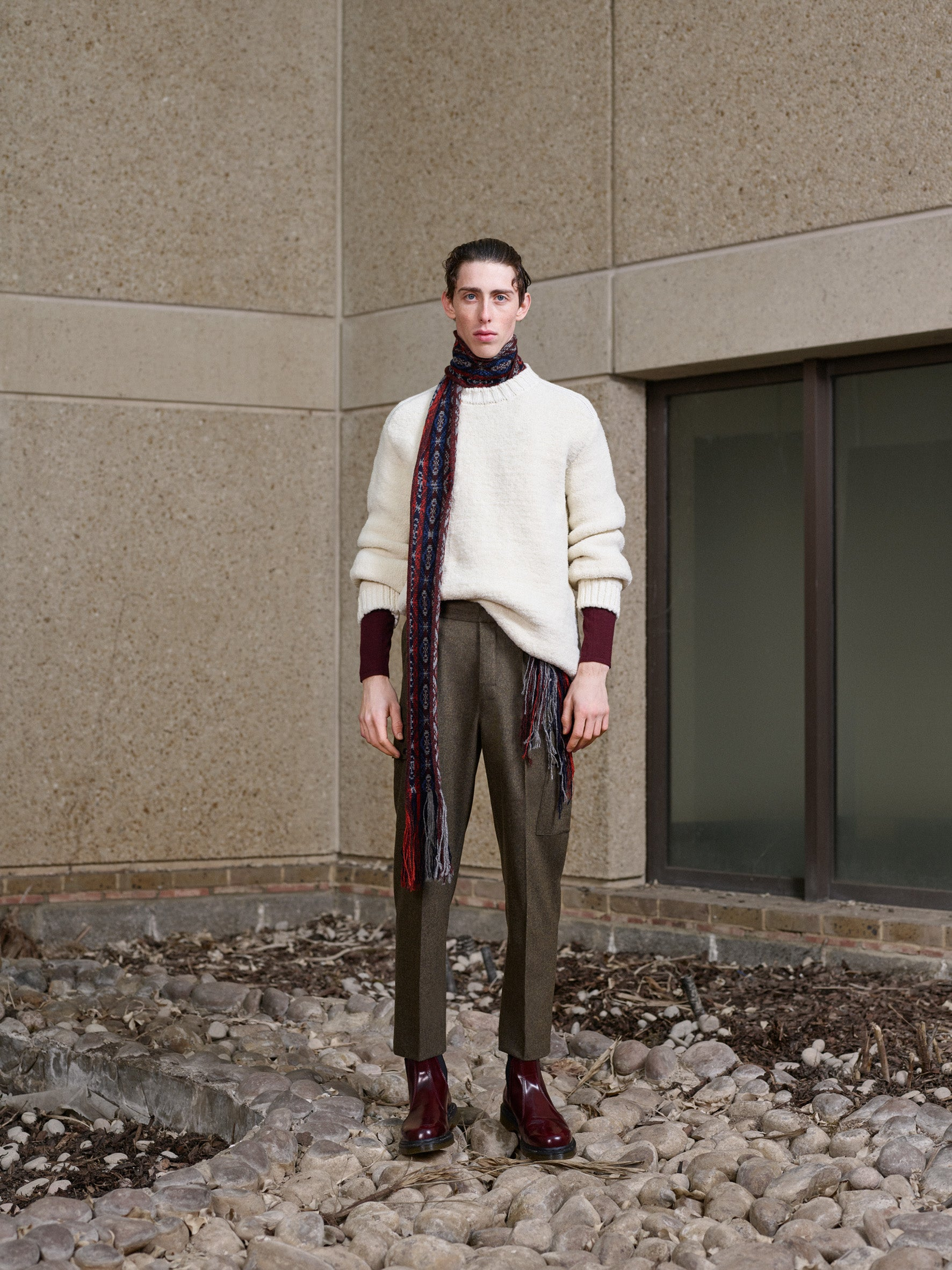 Pringle of Scotland Men's Autumn Winter '18 Look 5