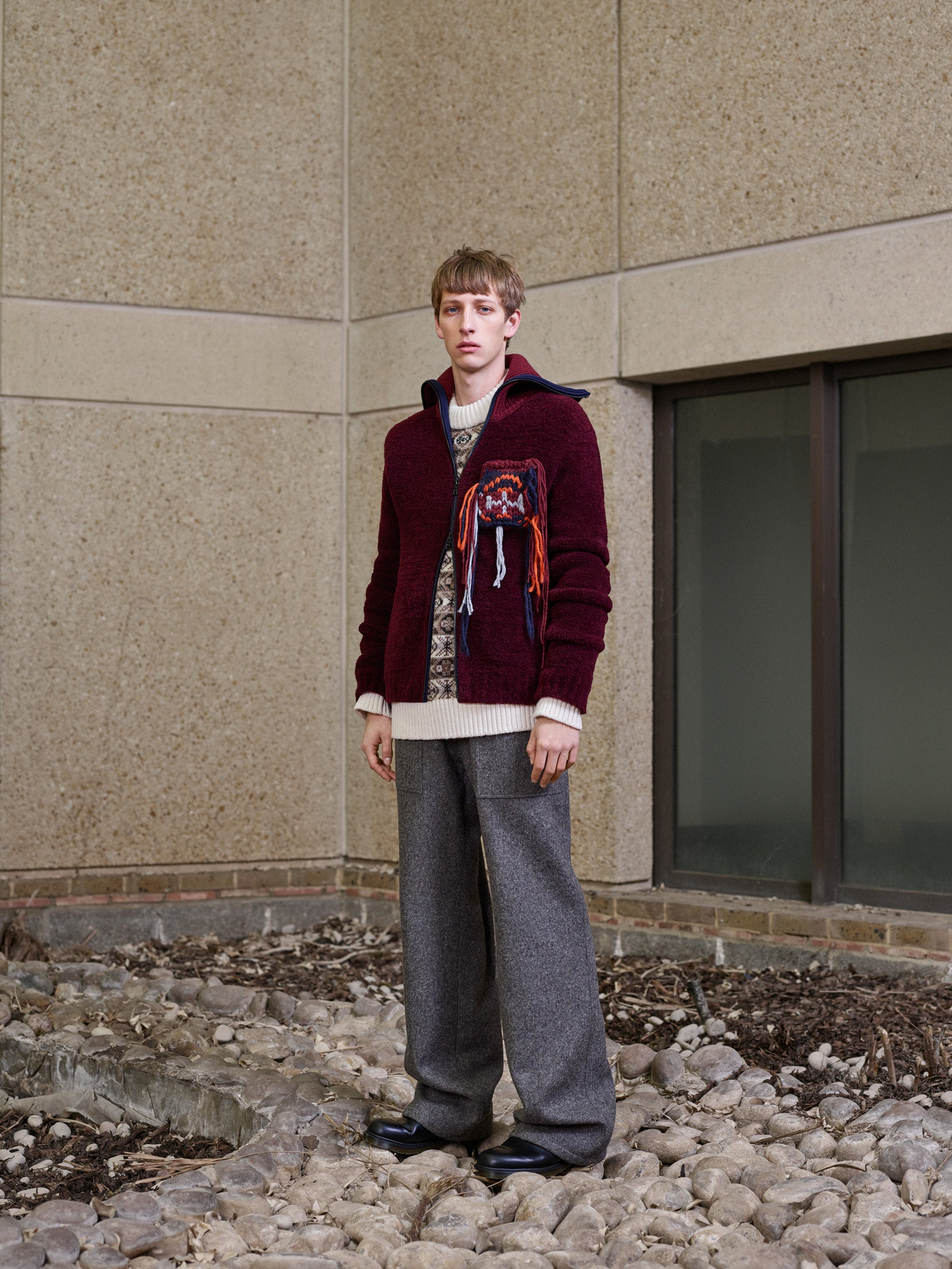 Pringle of Scotland Men's Autumn Winter '18 Look 7