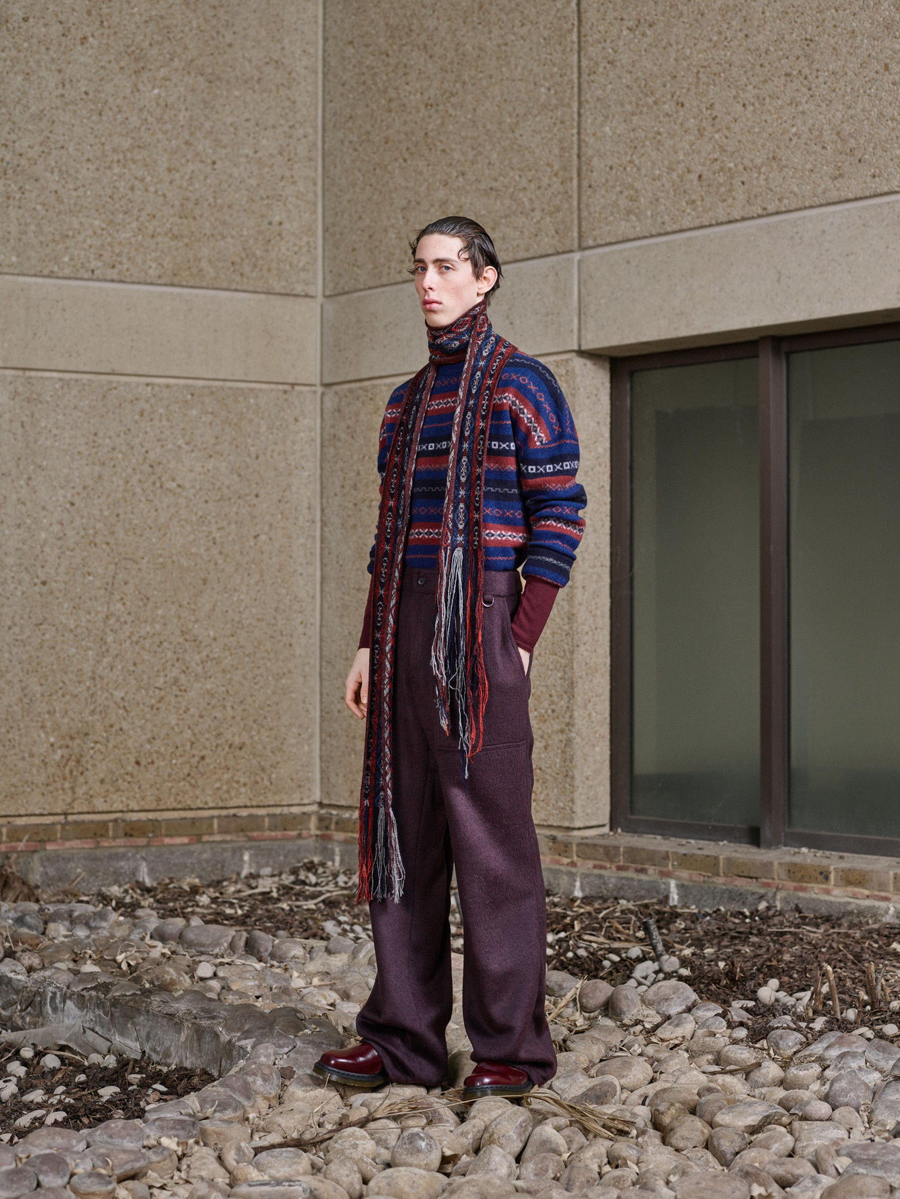 Pringle of Scotland Men's Autumn Winter '18 Look 8