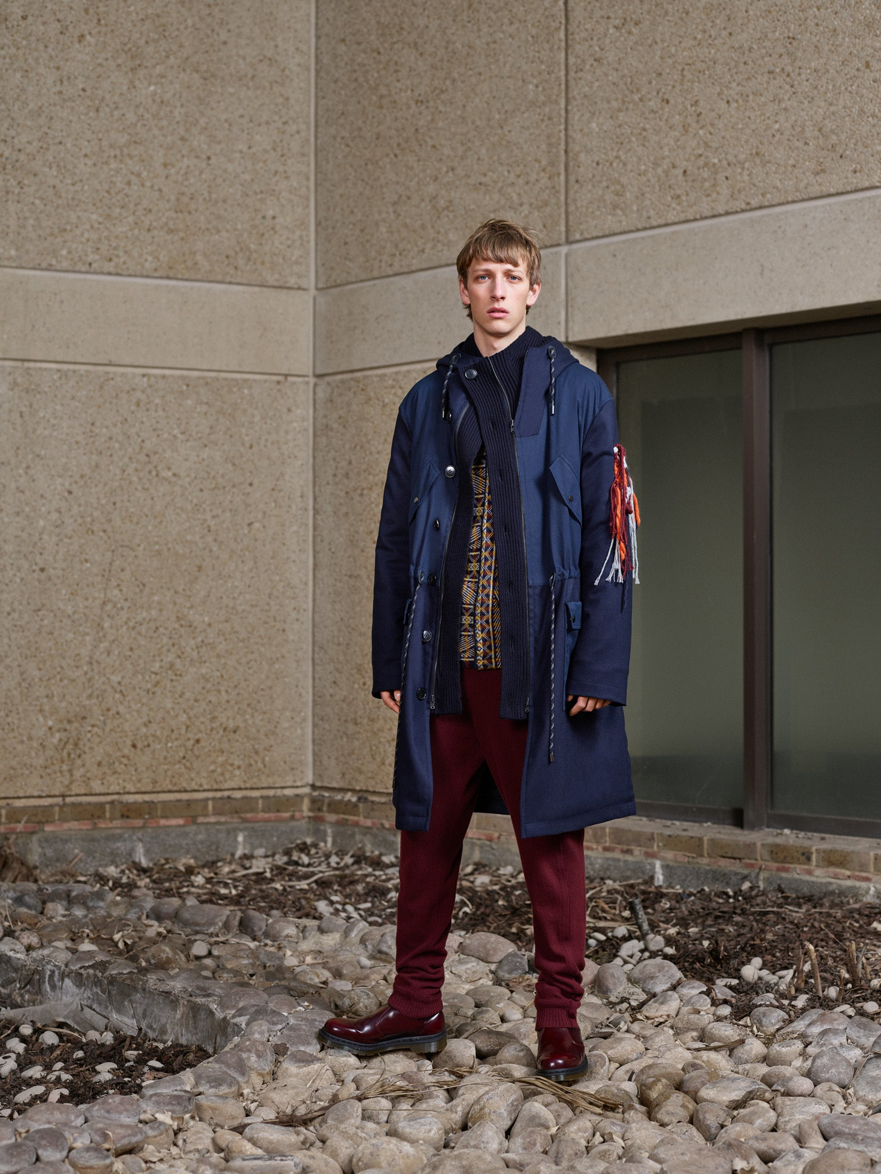 Pringle of Scotland Men's Autumn Winter '18 Look 9