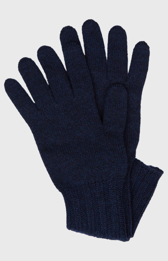 Women's Scottish Cashmere Gloves In Inkwell