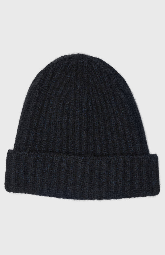 Women's Cosy Cashmere Beanie In Navy