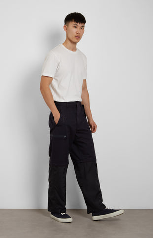 Adjustable Utility Trousers In Ink