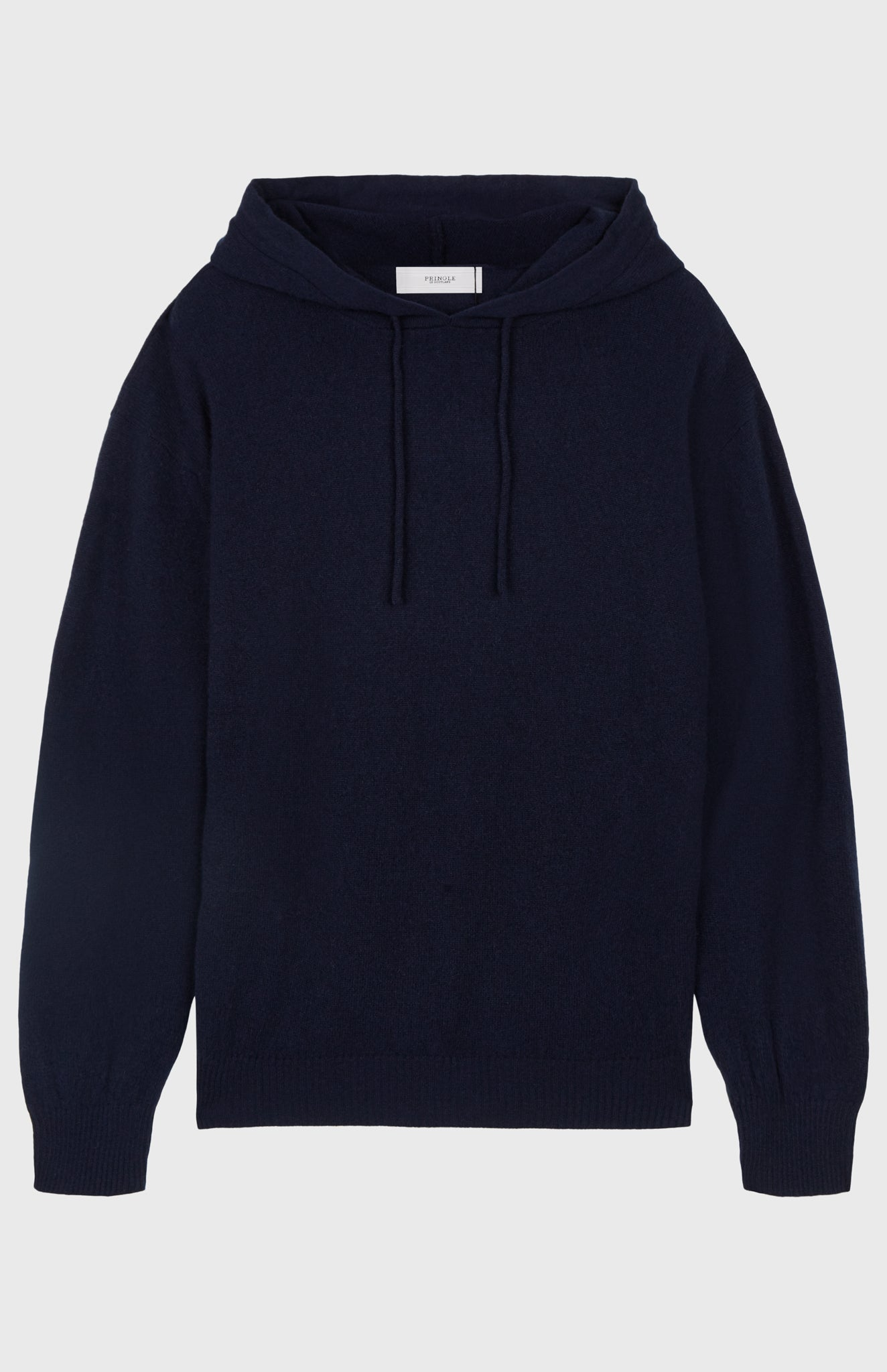 Off Gauge Cashmere Hoodie In Ink