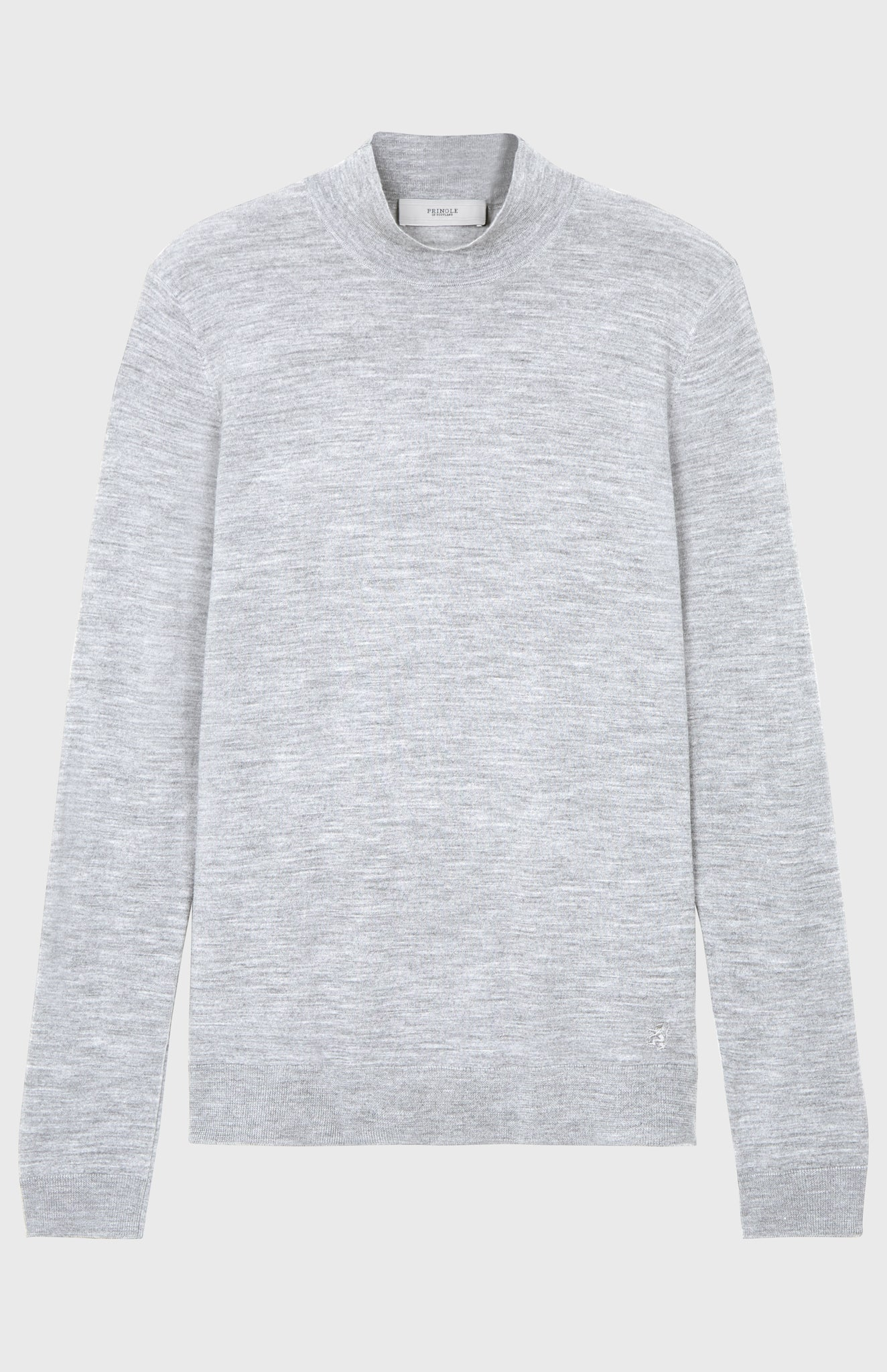 Merino Jumper In Grey
