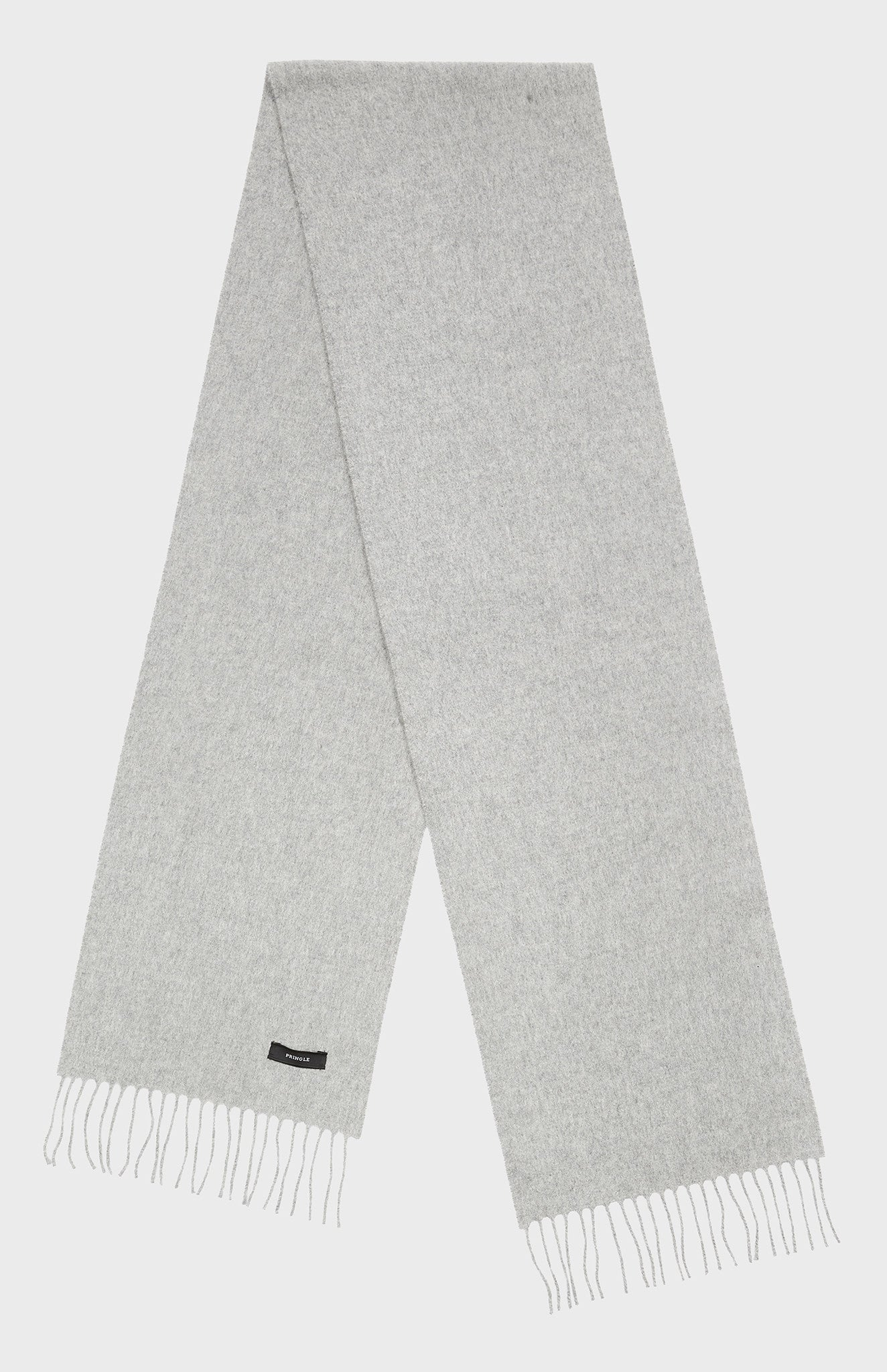Classic Cashmere Scarf in Grey