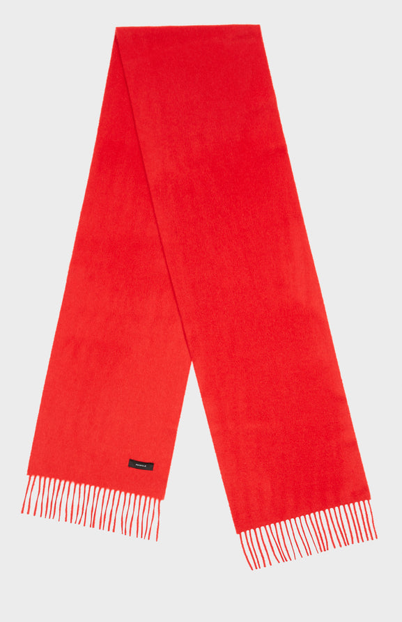 Classic Cashmere Scarf in Red