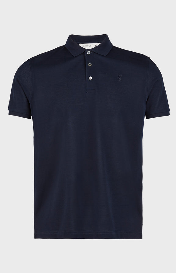Colour Polo Shirt In Navy