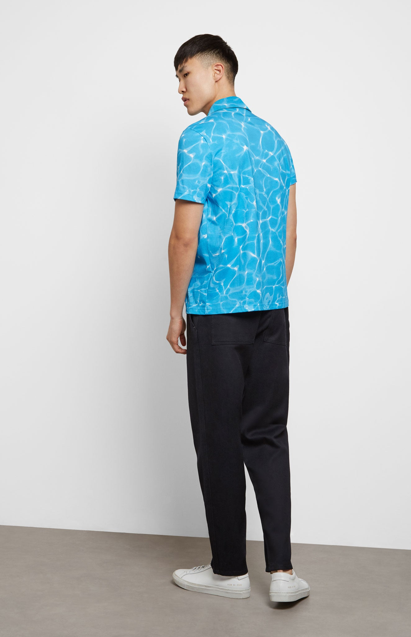 Reflections Polo Shirt In Blue