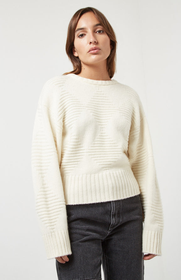 Cosy Cashmere Jumper In White