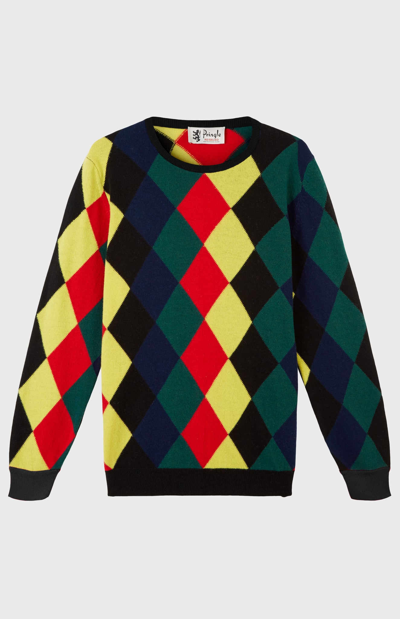 Pringle Reissued Harlequin Argyle Jumper