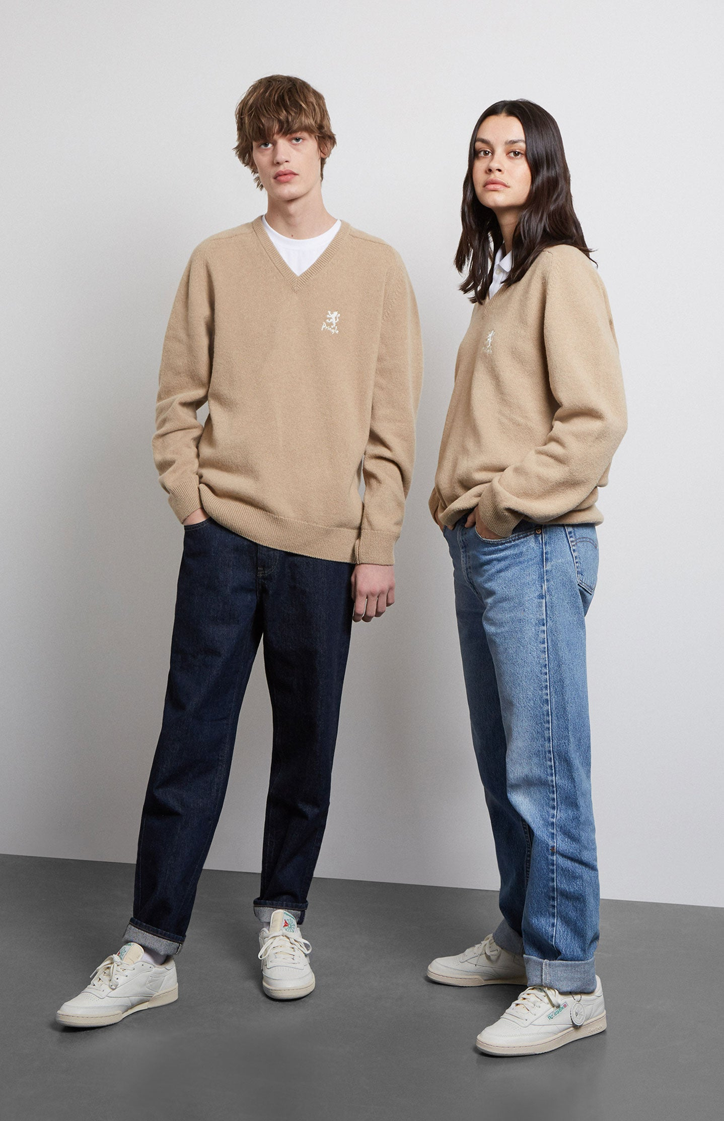 Archive Camel Lambswool Jumper