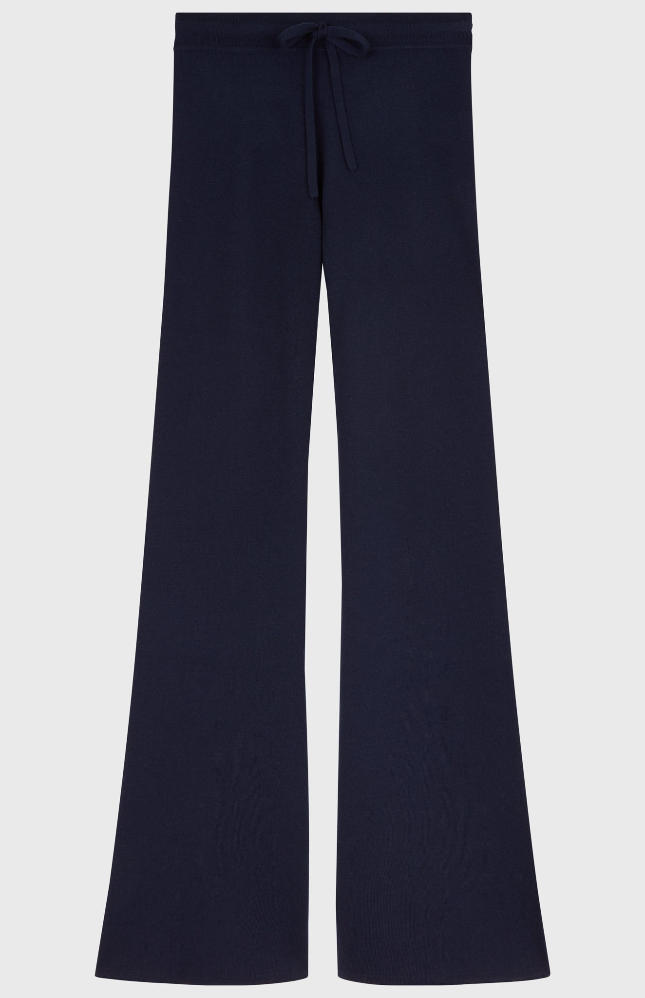 Merino Lounge Trousers In Dark Navy