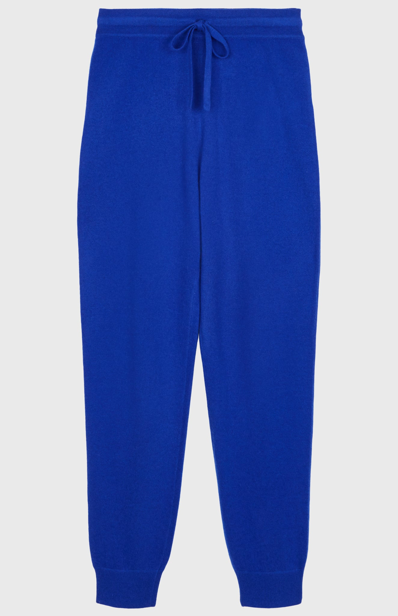 Women's Cashmere Blend Jogging Trousers In Bright Blue