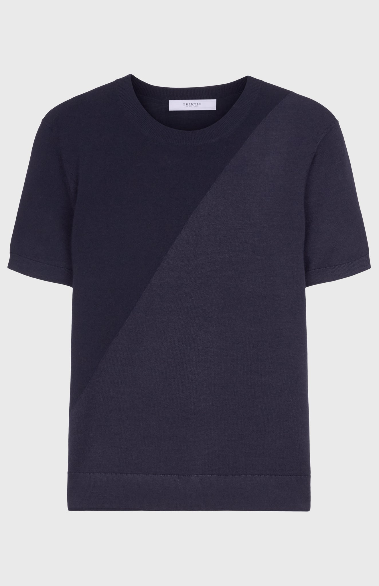 Women's Merino Silk T Shirt In Midnight
