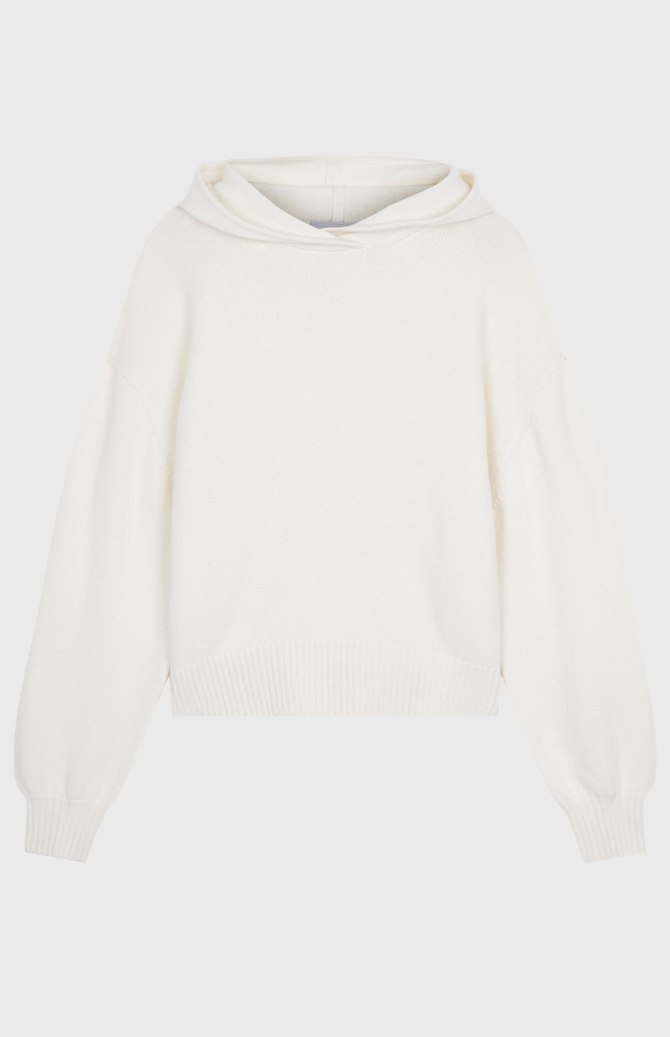 Women's Cashmere Blend Hoodie In Cream